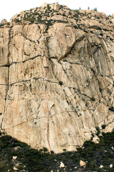 Rock Climbing Photo: South Buttress of Corte Madera