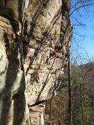 Rock Climbing Photo: Enjoying the stellar Creep Show.