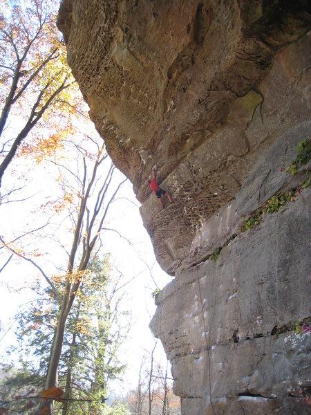 "Rock Climbing Photo: Enjoying the popular jughaul ""Twinkie"" a..."