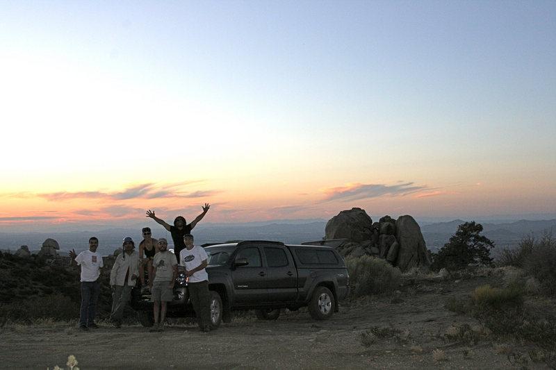 Group shot at Sunset!