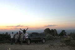 Rock Climbing Photo: Group shot at Sunset!