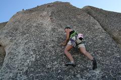 Rock Climbing Photo: me on Wookin Pa Nub