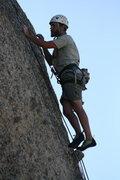 Rock Climbing Photo: Nate on a nub on Wookin Pa Nub