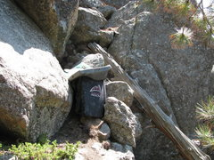 Rock Climbing Photo: The pad layout for The Fire Breathing Duck!!! I wo...