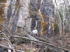 Rock Climbing Photo: Here is one with me in it for scale.