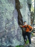 Rock Climbing Photo: The Monster is where we first met Jeff Vogtschalle...