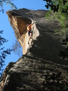 Rock Climbing Photo: Enjoying the stunning arete of Prime Directive.