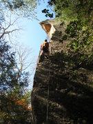 Rock Climbing Photo: Beginning up the long arete.
