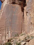 Rock Climbing Photo: Unknown crack.