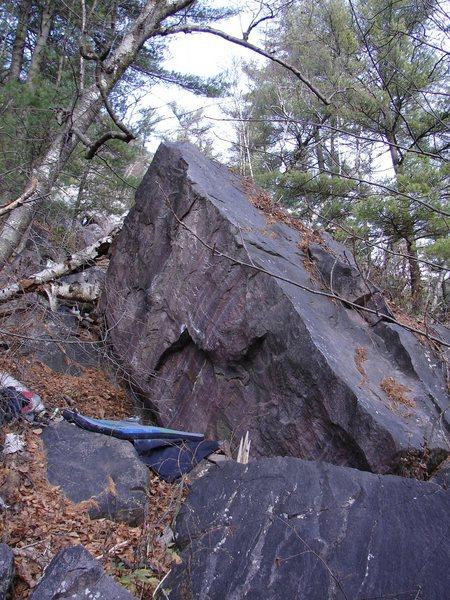 Rock Climbing Photo: Climb up Arete.