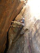 Rock Climbing Photo: Beulah's Book, P2 Chimney