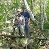Assorted climbing at Artist Bluff, Franconia Notch, NH