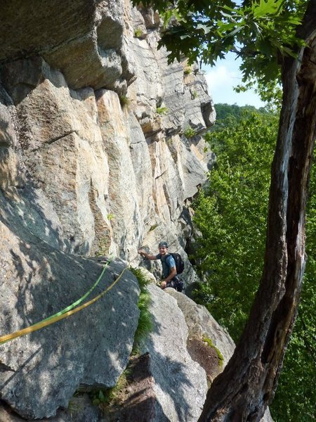 Assorted June climbing at the Shawangunks, NY.