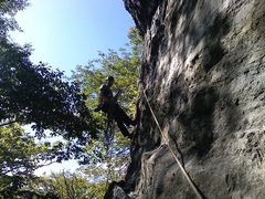 Rock Climbing Photo: Assorted Climbing at Rumney in September.