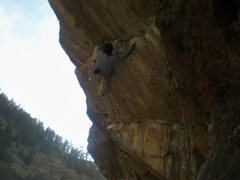 Rock Climbing Photo: This may not be the best beta, but for shorties li...