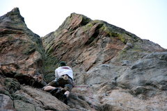 Rock Climbing Photo: Dave Bacon on Free Willie.