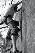 Rock Climbing Photo: Myself topping out