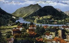 Rock Climbing Photo: Old postcard with overview of Bad Reichenhall