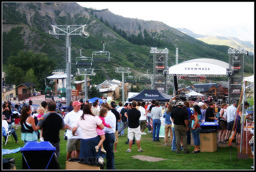 Rock Climbing Photo: Snowmass Concert