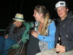 Rock Climbing Photo: Cami, Flo and Jason