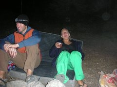 Rock Climbing Photo: Andrew and Tamarra