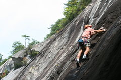 Rock Climbing Photo: Brian Gulden on Orangutan Flake