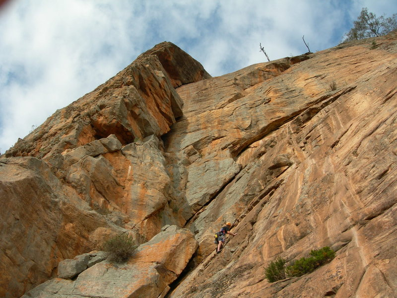 Rock Climbing Photo: The start of an amazing climb.