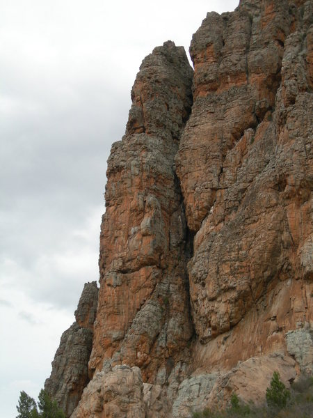 Rock Climbing Photo: The Bard Buttress