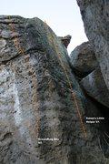 Rock Climbing Photo: Boulder 1 Right Side Topo