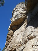 Rock Climbing Photo: Hostile Crankover as seen from the base of the rou...