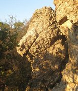Rock Climbing Photo: A cool formation.  I see the Where the Wild Things...