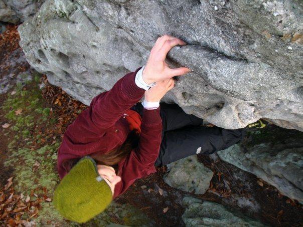 Rock Climbing Photo: Bouldering at Hunter's in Pennsylvania