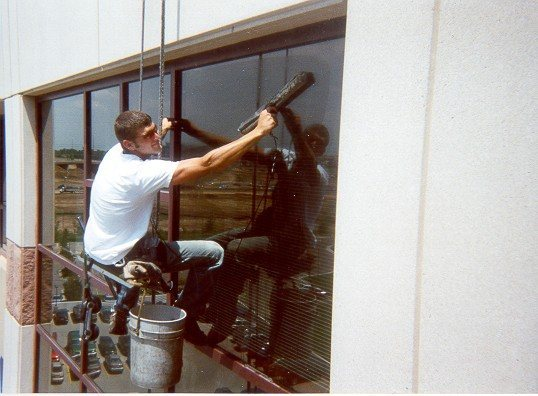 Rock Climbing Photo: luigie the squeegee. 2002