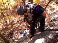 Rock Climbing Photo: Gunks EMS Learn to Lead class
