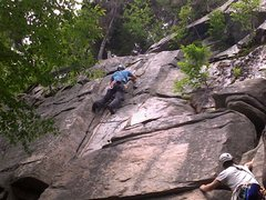 "Rock Climbing Photo: First Trad Lead ""Maiming of the Shrew"" E..."