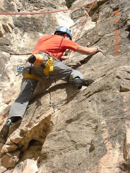 Rock Climbing Photo: Falling Rock