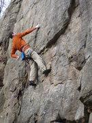 Rock Climbing Photo: Paul C. on Pocket Warmup  Photo by: John Knoernsch...