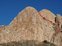 Rock Climbing Photo: Descent from the summit (read descent for B-Cubed)...