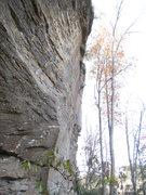 Rock Climbing Photo: Enjoying the fun upper arete of Immaculate Decepti...