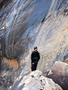 Rock Climbing Photo: Jonny at Black Arch Wall; Oak Creek Canyon, Red Ro...