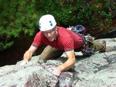 Rock Climbing Photo: Alpha Centauri flash, summer 09.
