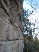 "Rock Climbing Photo: The Boneyard, with Janelle climbing ""Cinderel..."
