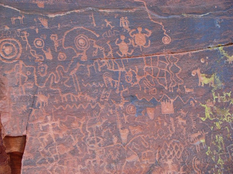 I think this was Petroglyph National Monument, between Sedona and Pheonix.  March 09.