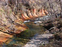Rock Climbing Photo: Oak Creek Canyon, AZ.  March 09.