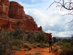 Rock Climbing Photo: Hiking around Courthouse Butte.  March 09.