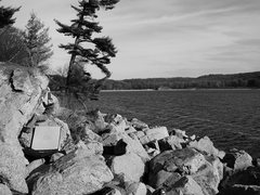 Rock Climbing Photo: Matt Satermo on the most photogenic boulder proble...