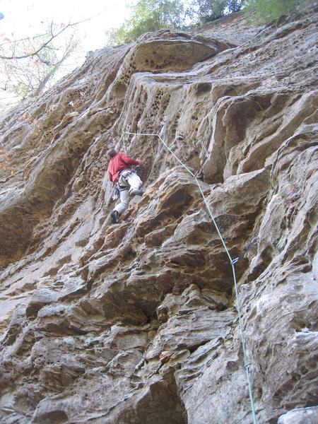 Rock Climbing Photo: Capt Blonde is bulgier than she first appears.