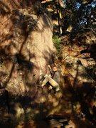 Rock Climbing Photo: Satermo on the Little Flatiron, October 09.