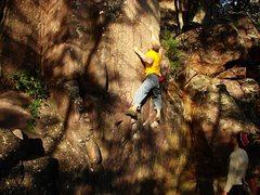Rock Climbing Photo: Super fun, Little Flatiron, October 09.