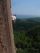 Rock Climbing Photo: Green Mt. Breakdown